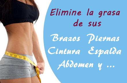 Eliminar la grasa para reducir medidas