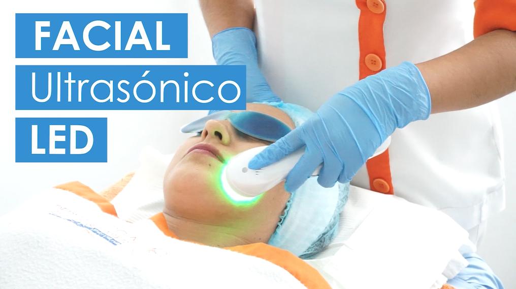 tratamiento facial ultrasónico led dermaperu lima dr aparcana