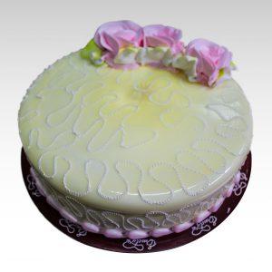 Torta rosas