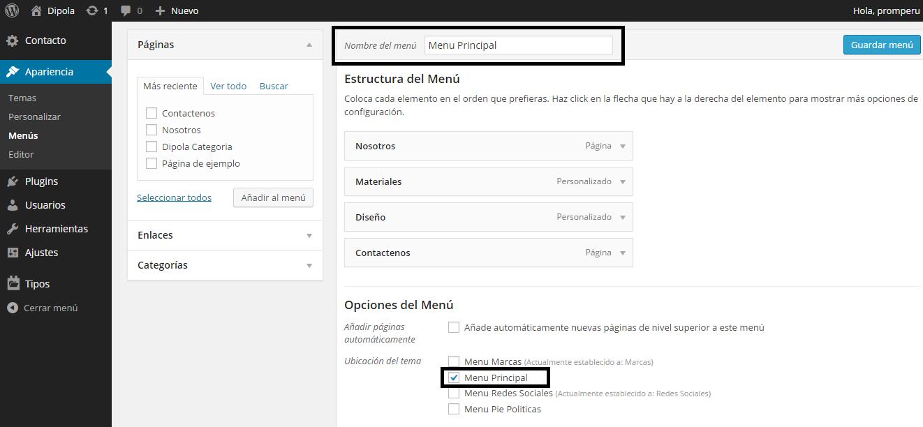 crear-menu-wordpress